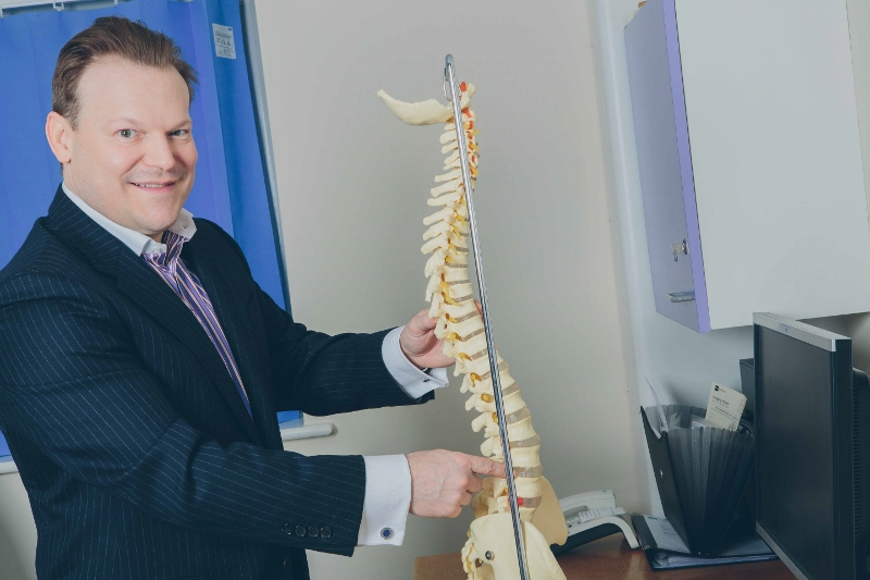 Dan Fagan explains the treatment of spinal stenosis